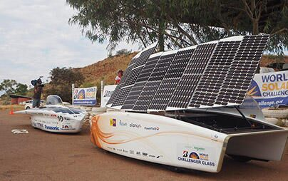 Oct. 9, a tight race for the top position continues! - 2017 Bridgestone World Solar Challenge Report (6)