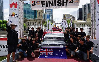 Oct.13, solar cars reached the goal and finished the 3,000 km race one after another! - 2017 Bridgestone World Solar Challenge Report (10)