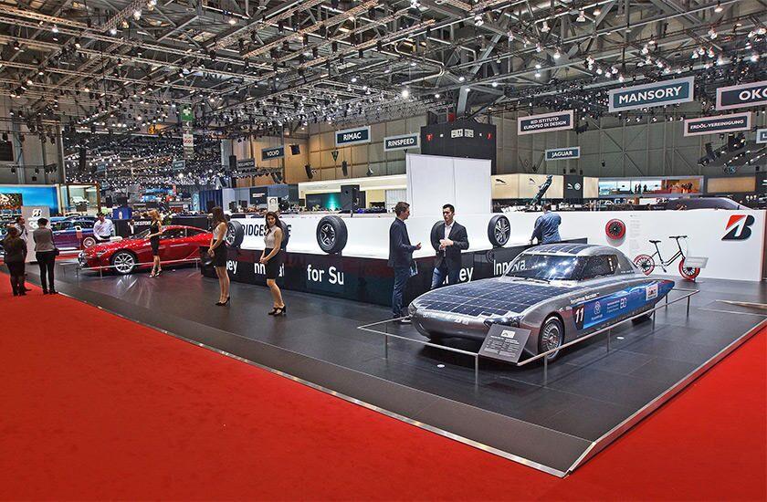 Bridgestone Returns To The Geneva International Motor Show Top - Car show okc today