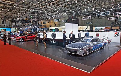Bridgestone returns to the Geneva International Motor Show; top three finalists for 2018 World Car of the Year are announced!