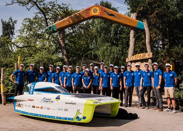 Passion for the Event: Punch Powertrain SOLAR TEAM