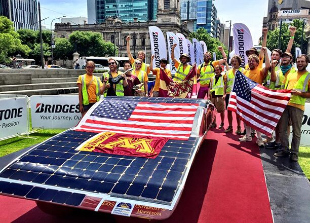 Passion for the Event: University of Minnesota Solar Vehicle Project