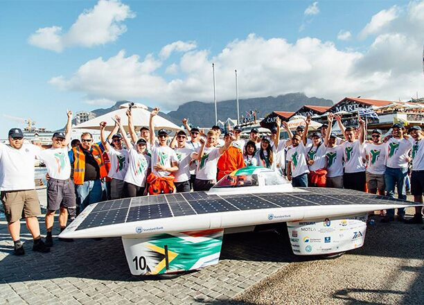 Passion for the Event: NWU Solar Car Team