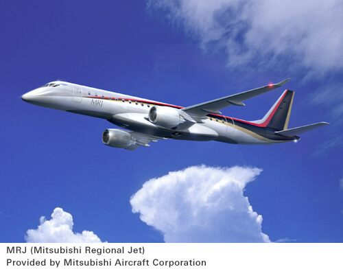 MRJ(Mitsubishi Regional Jet) Provided by Mitsubishi Aircraft Corporation