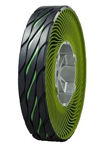 Non-pneumatic tire (airless concept) No.1