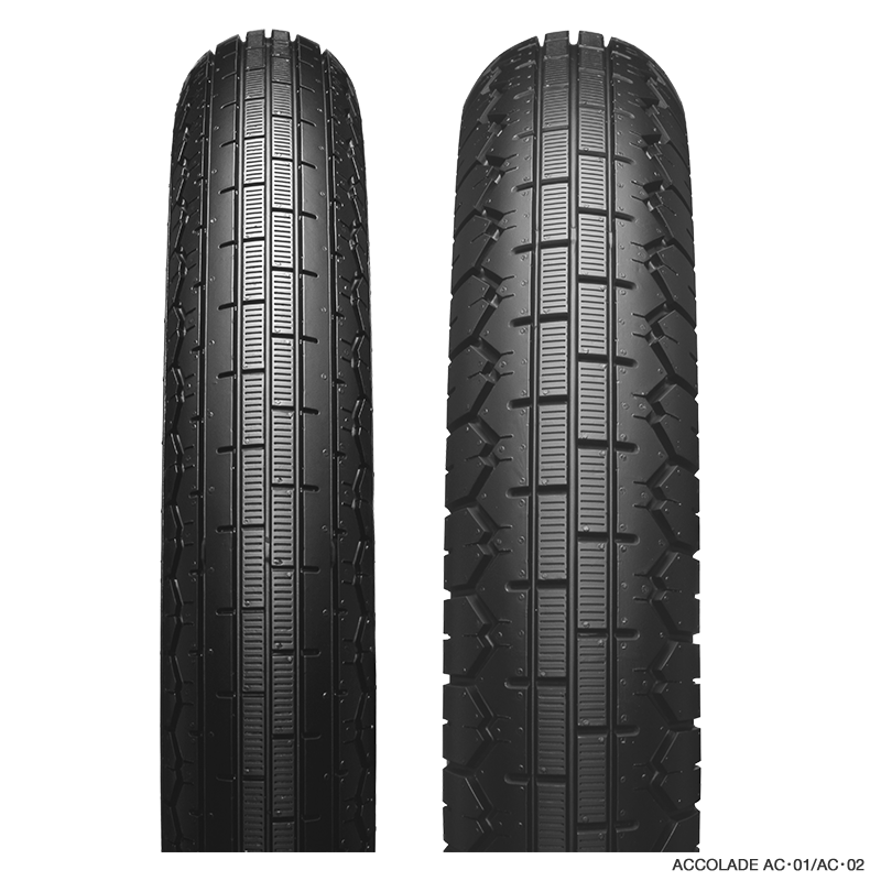 Bridgestone 50ccm Rennreifen Satz 2.00-18 AC01 2.25-18  AC02 Accolade NHS Dot18