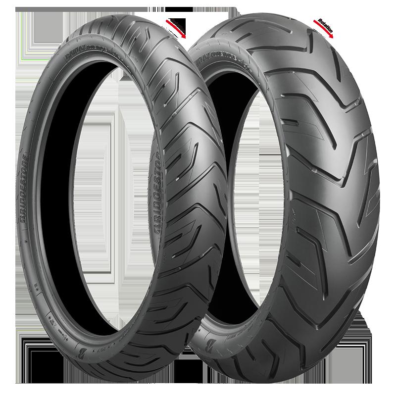 Battlax Battlax Adventure A41 Motorcycle Tires