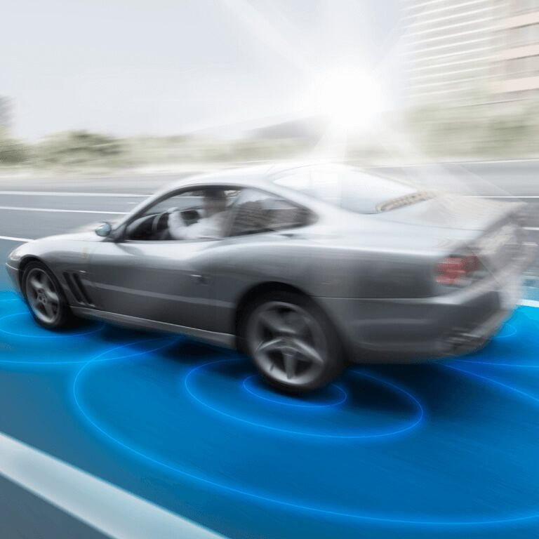 Sensing Technology of Tires and Road Surfaces