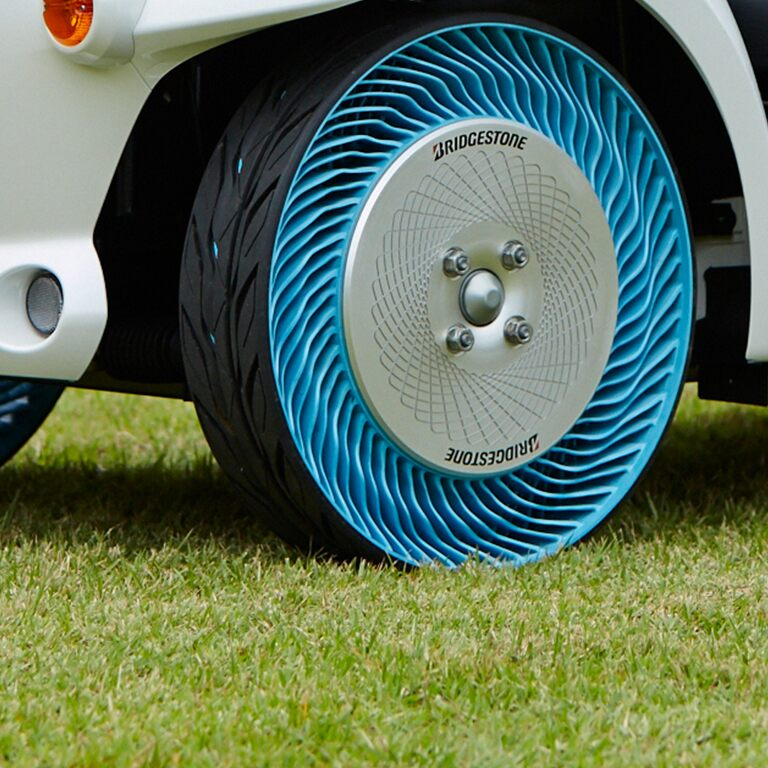 "Bridgestone's Non-Pneumatic Tire Technology ""Air Free Concept"""